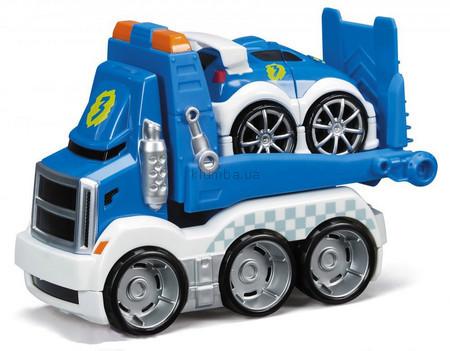 Детская игрушка MEGA Bloks Автомобиль транспортировщик Гонки
