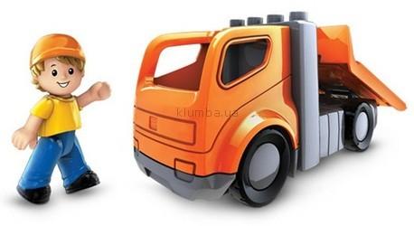 Детская игрушка MEGA Bloks Буксировщик с фигуркой
