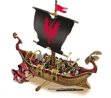 Детская игрушка MEGA Bloks Корабль, Король Артур