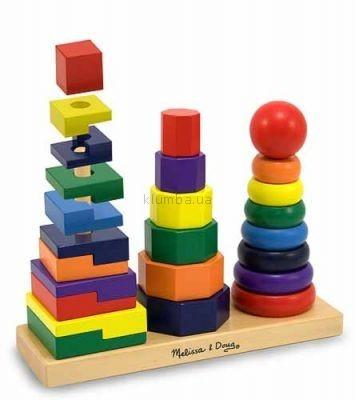 Детская игрушка Melissa&Doug Геометрическая пирамидка (MD567)