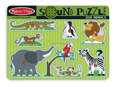 Детская игрушка Melissa&Doug Рамка-вкладыш Дикие животные