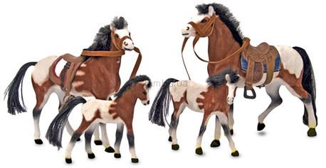 Детская игрушка Melissa&Doug Семейство лошадей