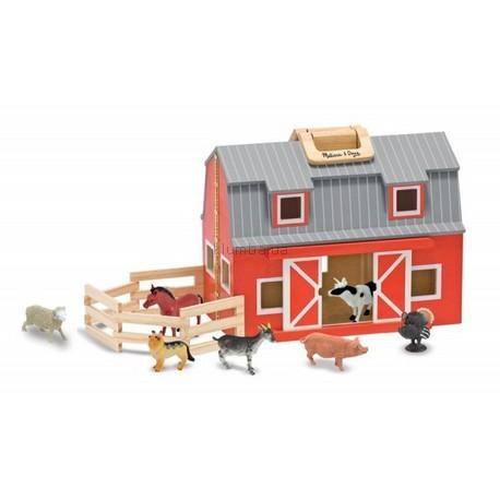 Детская игрушка Melissa&Doug Складная ферма