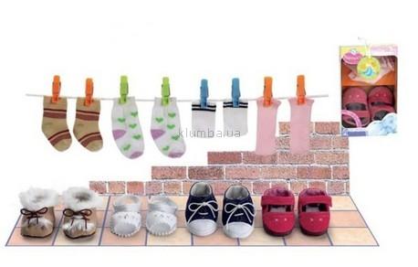 Детская игрушка Nenuco Обувь+носки, 4 вида (Nenuco)
