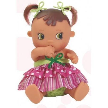 Детская игрушка Paola Reina Малышка европейка брюнетка, сосущая палец