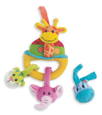 Детская игрушка Playgro Подвеска на зажиме Жираф