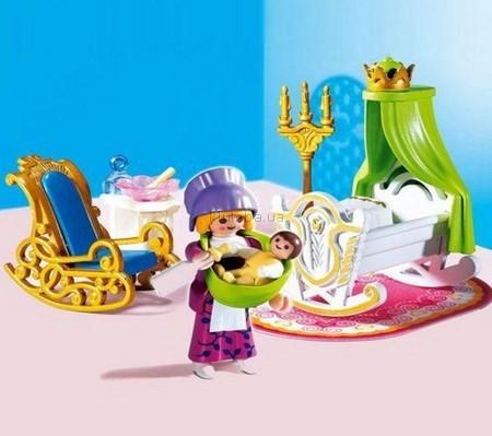 Детская игрушка Playmobil Детская комната принцессы
