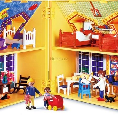 Детская игрушка Playmobil Кукольный дом в чемодане
