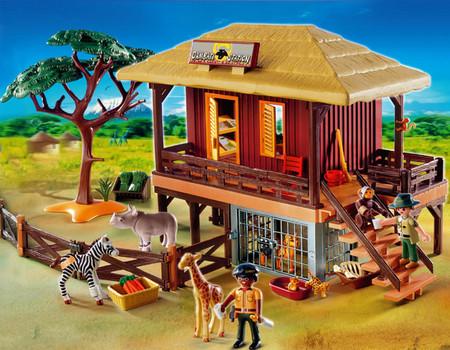 Детская игрушка Playmobil Ветеринарная клиника диких животных