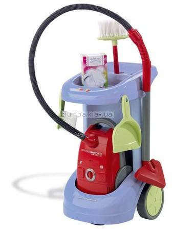 Детская игрушка Smoby Тележка для уборки, с пылесосом Rowenta
