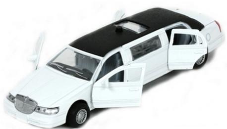 Детская игрушка Технопарк Автомодель Лимузин (белый)