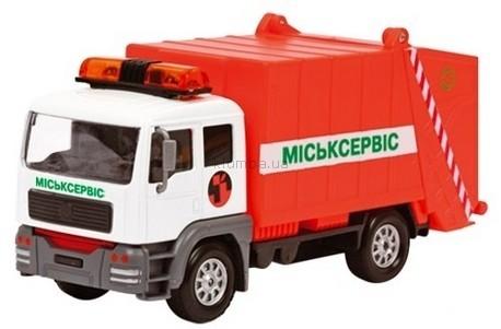 Детская игрушка Технопарк Автомодель  Мусоровоз