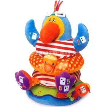 Детская игрушка Tolo Попугай-пирамидка
