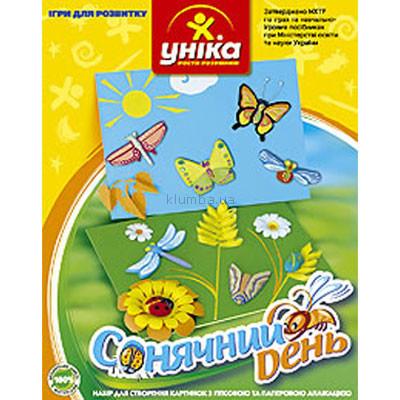 Детская игрушка Уника Набор для создания картинок Солнечный день