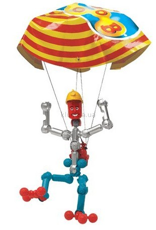 Детская игрушка Zoob Dude парашютист