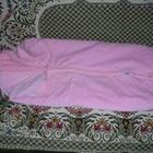 Продаю б/у детскую одежду, конверт розовый теплый