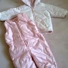 Теплый зимний костюм Mothercare - курточка и комбинезон