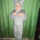 карнавальный костюм Мышка серая