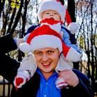 Новогодняя шапка санты, колпак, шапочка санты! Шапка Деда мороза! Святого Николая! 35грн! Шапочка!