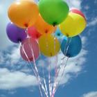 Шары гелиевые летающие круглые разноцветные, фольга. Наполнение гелием только Киев