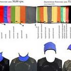 Продам балаклавы, подшлемники, шарфы шапки, повязки и др. головные уборы