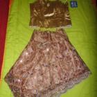 Нарядный вечерний костюм корсет+ юбка,НОВЫЙ, 44-46 р.!Цена смешная!