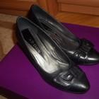 Фирменные кожаные туфли! 36р, 23см.