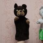 Игрушка рукавичка для кукольного театра, игрушка перчатка