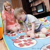 Теплый развивающий коврик пол Бебипол с рождения до 15 лет