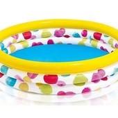 Детский надувной бассейн Intex 168*38 см,  58449