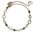 Ожерелье «Золотая грация» с кристаллами SWAROWSKI ELEMENTS