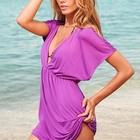 В НАЛИЧИИ Купальники, пляжные туники и платья в наличии в стиле VS