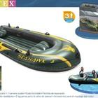 Надувная трёхместная лодка SeaHawk 300, 68349 Intex, Интекс