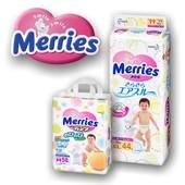 Новинки маленькие пачки!японские подгузники Merries. Акция! бесплатная доставка Киев. низкая цена.
