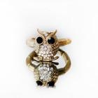 ☼ Красивое кольцо сова ☼