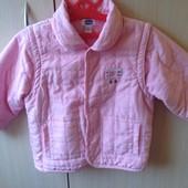 Курточка,куртка от Chicco 86р