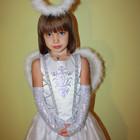 Авторский новогодний карнавальный детский костюм Ангела. Только прокат