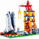 Конструктор детский 515 Космическая база, Шатл, Brick, Брик