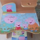 Детская парта со стулом новая в наличии