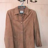 пиджак замшевый 50р 16
