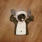 Кукольный театр, куклы-перчатки для кукольного театра-Тигра из Винни Пуха, Мышонок, Собака