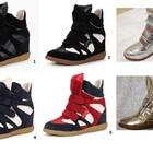 Isabel Marant кроссовки на платформе