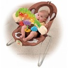 Кресло-шезлонг Обезъянка Fisher-Price deluxe monkey bouncer