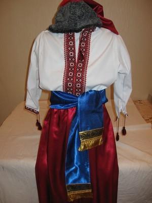 прокат детского костюма украинского козака