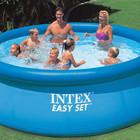 Бассейн надувной наливной 366х91 Intex 56930 семейный Интекс 28144