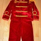 Прокат карнавальный костюм гусара 6-8 лет