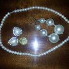 Бижутерия - колье, бусы, серьги, кольца! Бирюза, натуральные камни и искусственный жемчуг.