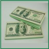 Отрывной блокнот для заметок 1 000 Долларов США в наличии.