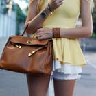 Легендарная сумка Hermes Kelly 35 см два цвета в наличии