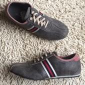 черные кроссовки мужские Kowalski(кожа)